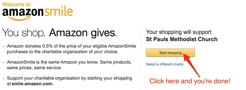 amazon-smile-confirmation-page